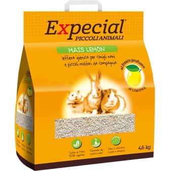 Expecial Mais Lemon Piccoli Animali Lettiera