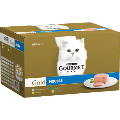 Gourmet Gold Gatto Mix Mousse Multipack