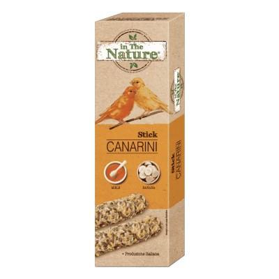 In The Nature Canarini Sticks Miele e Banana