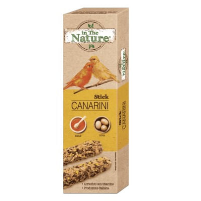 In The Nature Canarini Sticks Miele e Uova