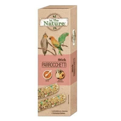 In The Nature Parrocchetti Sticks Miele e Frutta