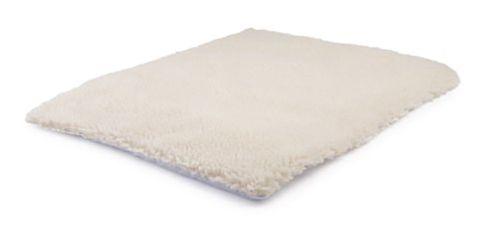 Tappetino Autoriscaldante Furry Bianco