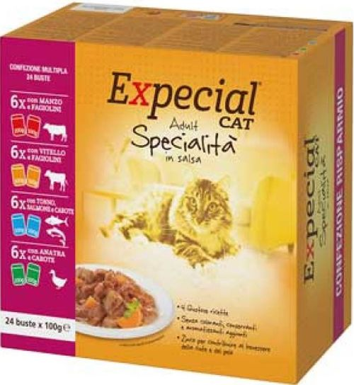 Expecial Gatto Specialita' Busta In Salsa Multipack