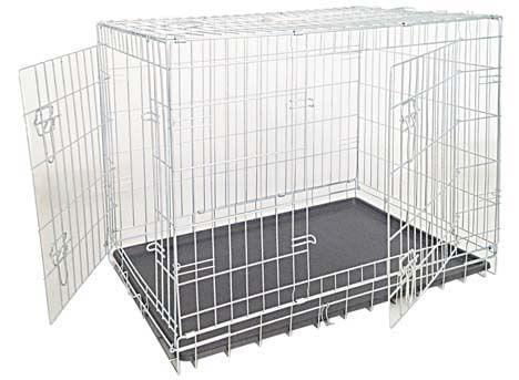 Croci Box Pieghevole Zincato Per Cani