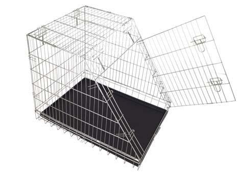Box Per Cani Smussato Zincato