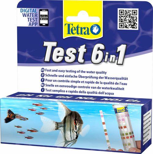 Tetra Test Strisce 6 In 1 (25 Test) Pz.6