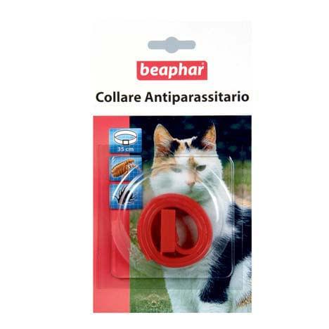 Beaphar Collare Antiparassitario Rosso