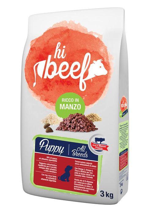 Hi Beef Puppy al Manzo 3Kg