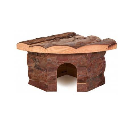Croci casetta angolare legno