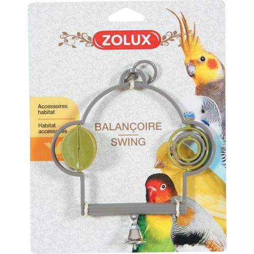 Zolux Uccelli Altalena Plastica Con Giochi