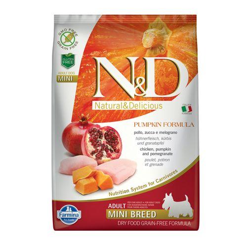 N&D Pumpkin Adult Mini Pollo Zucca e Melograno
