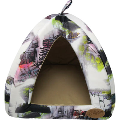 Flair Pet Water Gatto Cuccia Igloo Tortora