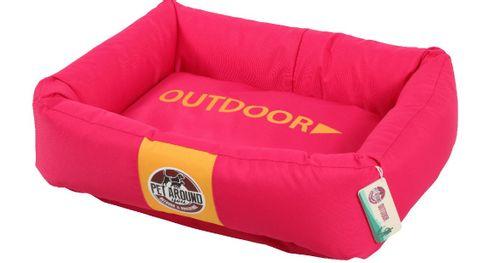 Pet around you cuccia rettangolare outdoor fucsia