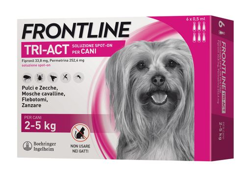 Frontline Tri-Act Spot On Cane 6 Pipette