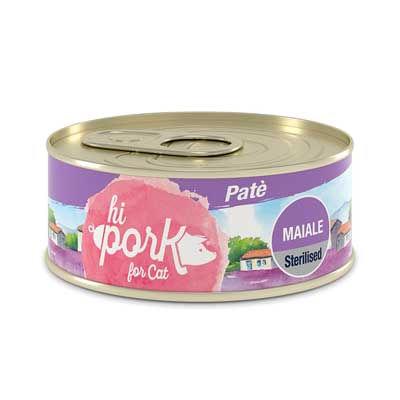 HI Pork Cat Sterilized Patè Maiale