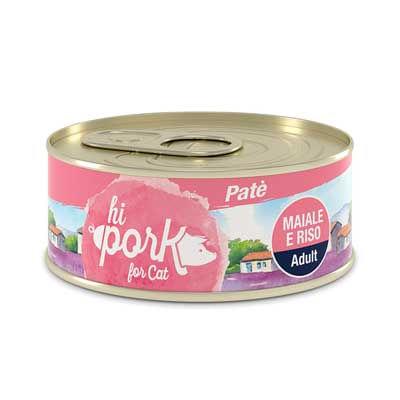 HI Pork Cat Adult Patè Maiale