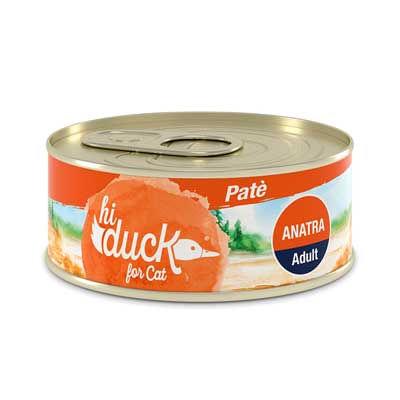 Hi Duck Cat Adult Patè Anatra
