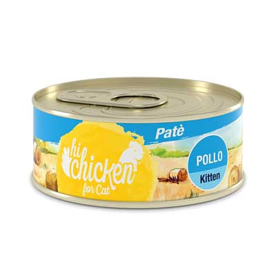 Hi Chicken Kitten Patè Pollo