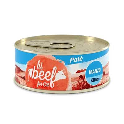 Hi Beef Kitten Patè Manzo
