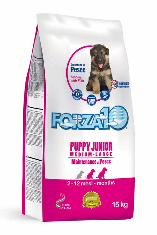 FORZA10 Maintenance Puppy Junior Medium&Maxi Pesce