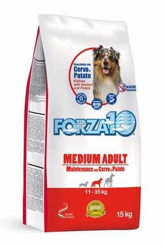 FORZA10 Maintenance Cane Medium Cervo e patate