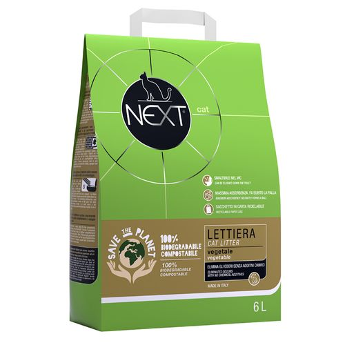 Next cat lettiera vegetale