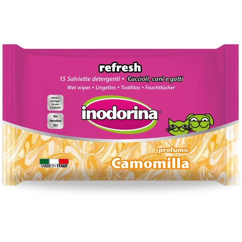 Inodorina Salviette Per Occhi Orecchie Camomilla