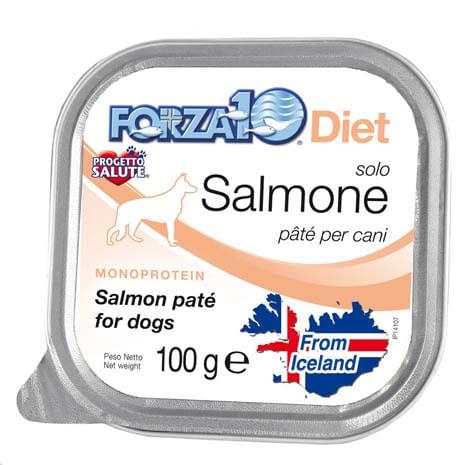 Forza10 Solo Diet Salmone