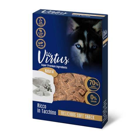 Virtus Dog Snack Soft Tacchino
