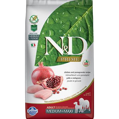 N&D Prime Adult Medium Maxi Pollo Melograno
