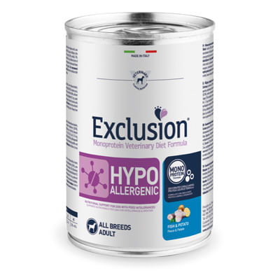 Exclusion Diet Cane Pesce E Patate 400g