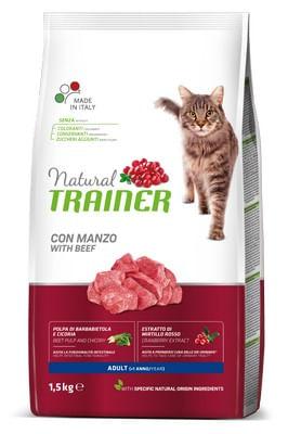 Natural Trainer Gatto Adult Manzo