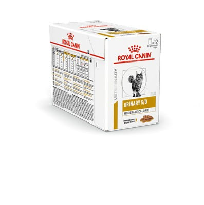 Royal Canin V-Diet Urinary S/O Moderate Calorie Multipack