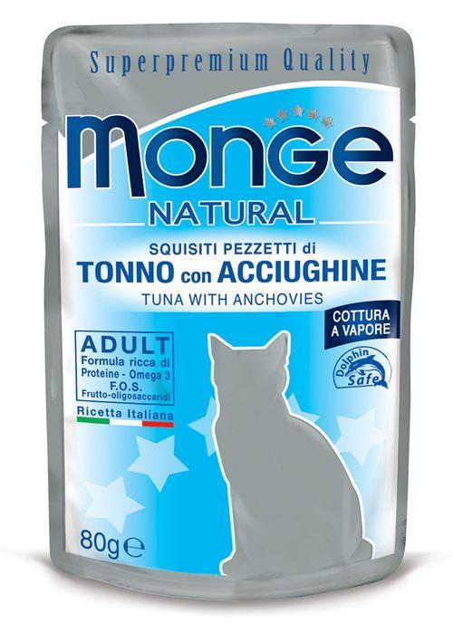 Monge Tonno e Acciughine Cat