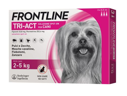 Frontline Tri-Act Spot On Cane 3 Pipette