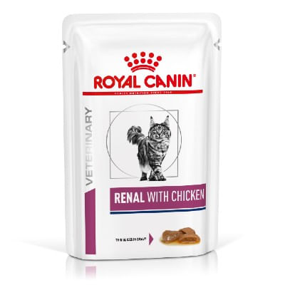 Royal Canin V-Diet Renal Multipack Pollo Gatto