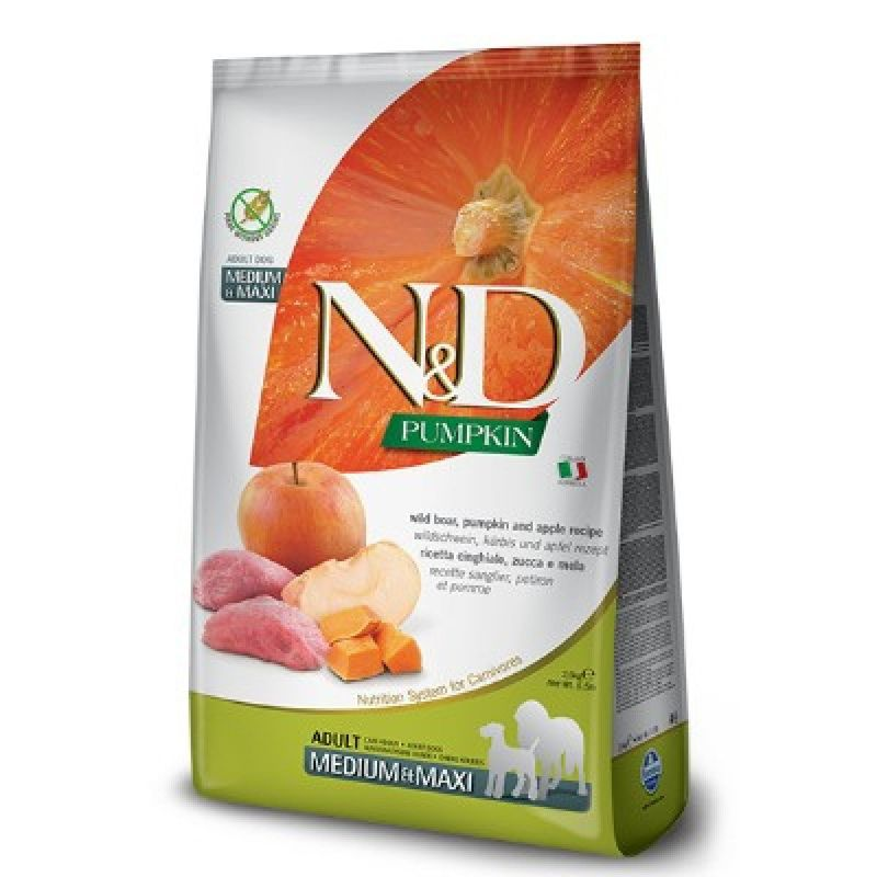 N-d-pumpkin-dog-adult-med-max-cinghiale-zucca