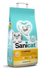 Lettiera Sanicat Clumping Unscented