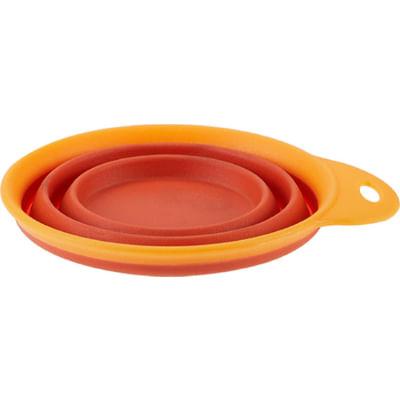 lovedi-ciotola-pieghevole-arancione