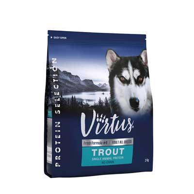 Virtus Dog Protein Selection Adult Trota No Grain
