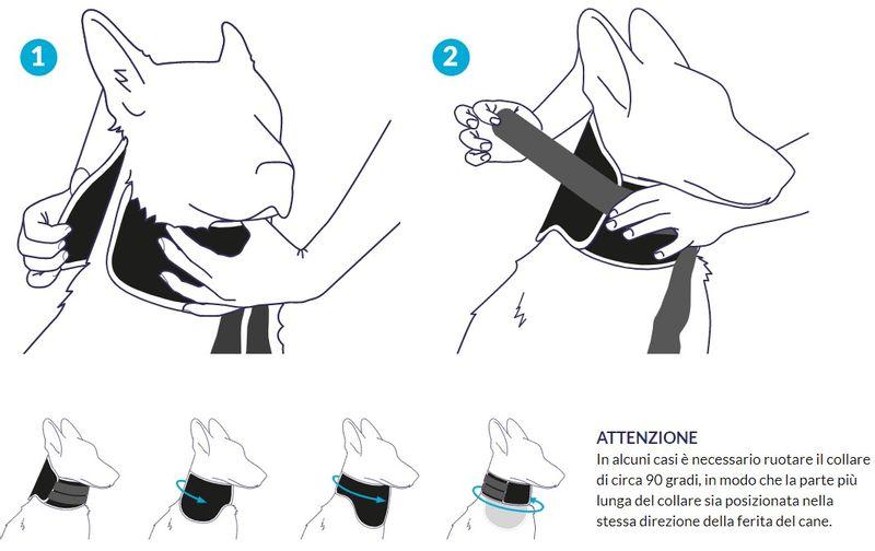 balto-tutore-neck-black-eco-antileccamento-istruzioni