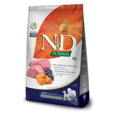 N&D Pumpkin Adult Medium Maxi Agnello Zucca e Mirtillo