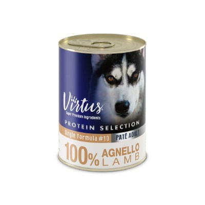 Virtus Dog Protein Selection Agnello 400g