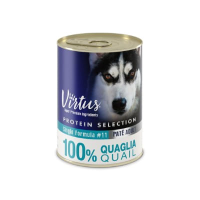 Virtus Dog Protein Selection Quaglia 400g