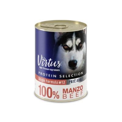 Virtus Dog Protein Selection Manzo 400g