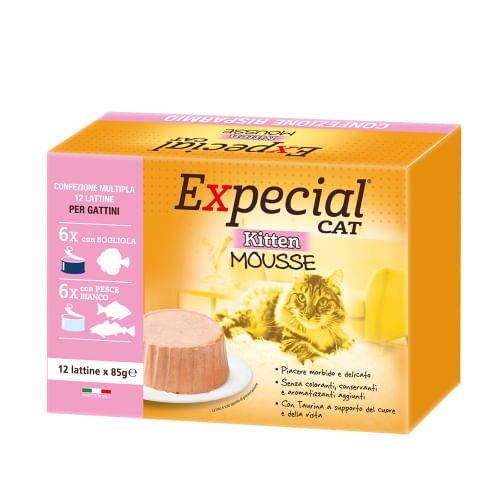 Expecial Kitten Multipack Pesce Bianco e Sogliola